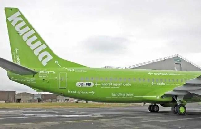 Kulula Airlines Tailfin