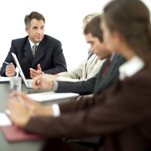Photo of a marketing meeting