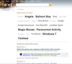 Bing joins Twitter