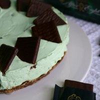 No Bake After Eight Cheesecake