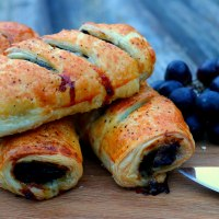 Pork, Apple & Black Pudding Sausage Rolls
