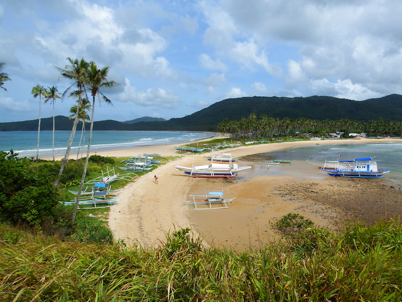 Top 4 Places in El Nido - Nacpan Beach