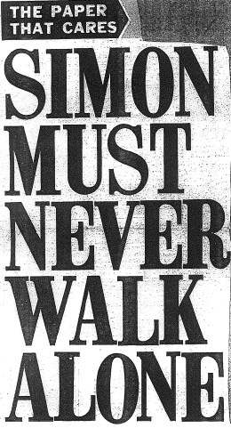 Simon Must Never Walk Alone cropped