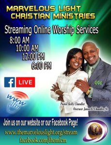 New online worship times