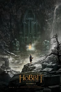 Poster for 2013 fantasy epic The Hobbit: The Desolation of Smaug