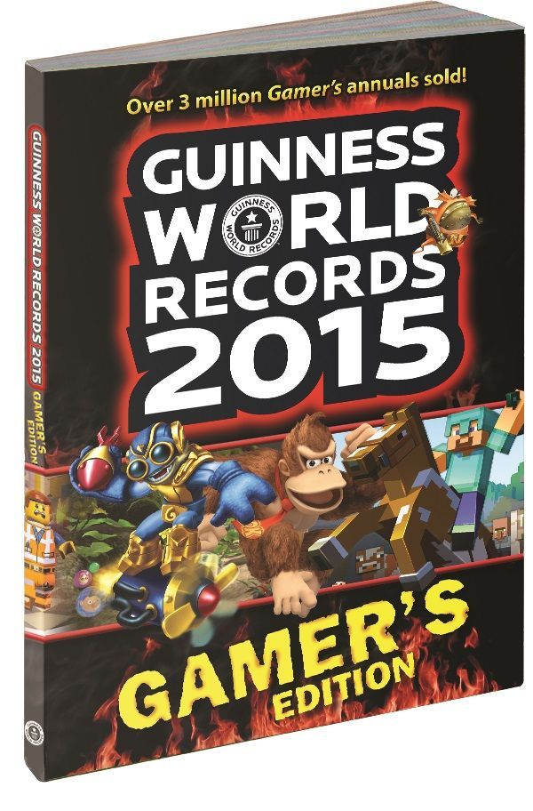 World 2014 Edition Guinness Records Gamers Book Book