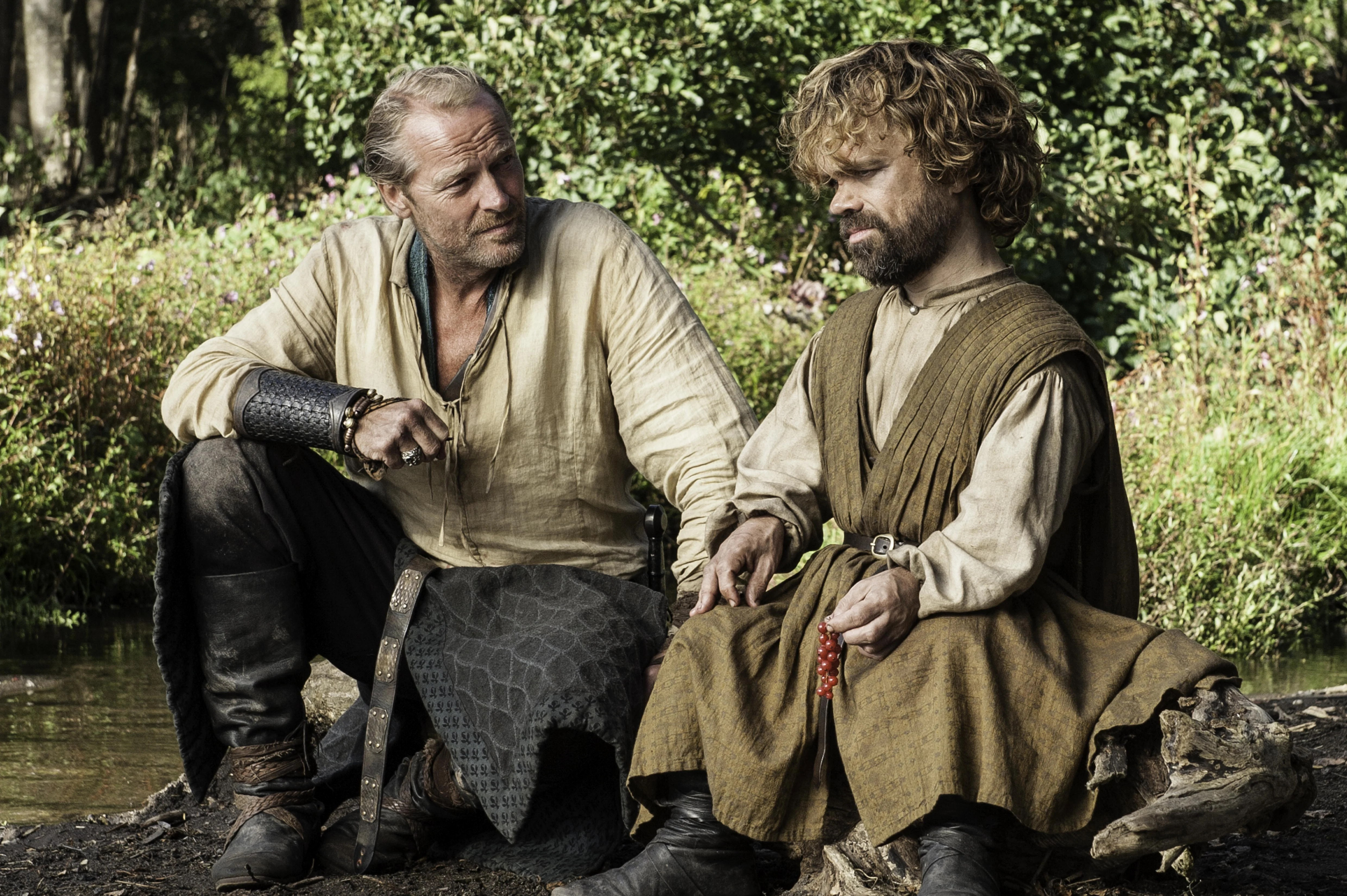 Image result for game of thrones season 5 tyrion and jorah
