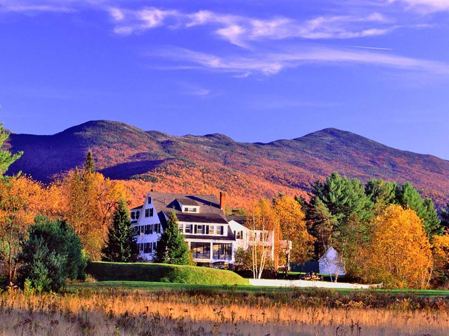NEW HAMPSHIRE Franconia Inn mtns