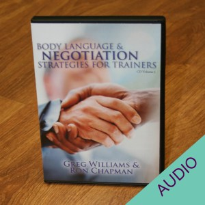 Body Language & Negotiation Strategies for Trainers audio CD