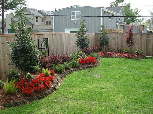 Gainesville Backyard Landscaping | The Masters Lawn Care on Cheap Back Garden Ideas id=16444