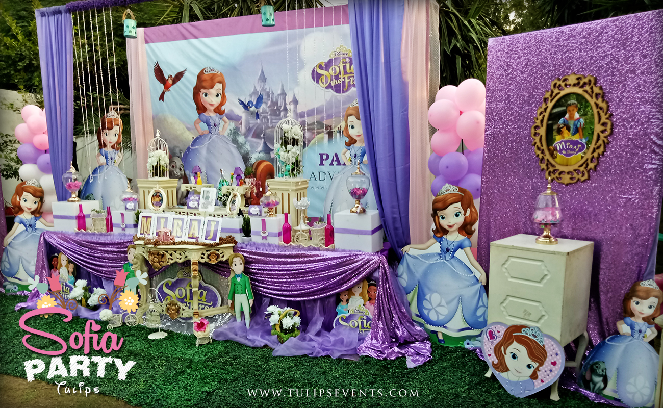 Sofia The First Party Decorations