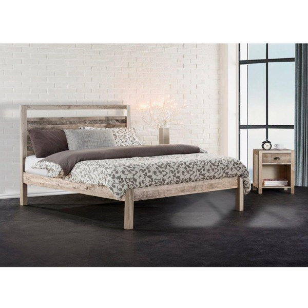 Cayman Bed (Driftwood) - Double Bed