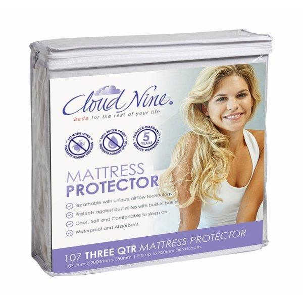 Cloud Nine Mattress Protector - Three Quarter