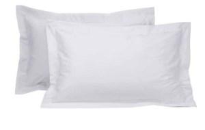 Hotel 100% Cotton Percale 250 Thread Count – Queen Oxford Pillow Case