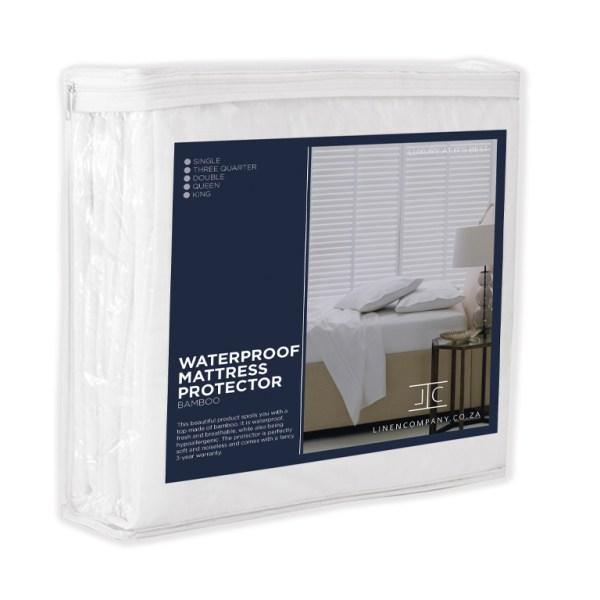 Linen Company Waterproof Bamboo Mattress Protector