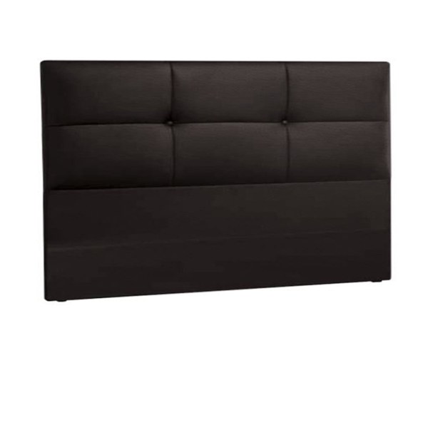 Lourini Luxe Headboard (Dark Brown) - Double