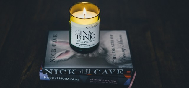 candle light is good when you are reading in bed