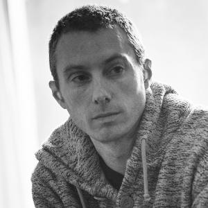 Black and white headshot of The Maydays Joe Samuel.