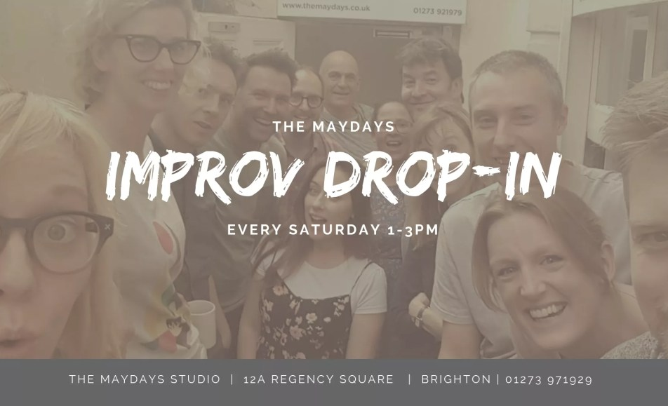 Saturday Improv Comedy Drop-In Brighton