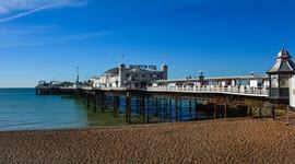 Brighton Pier on a calm day