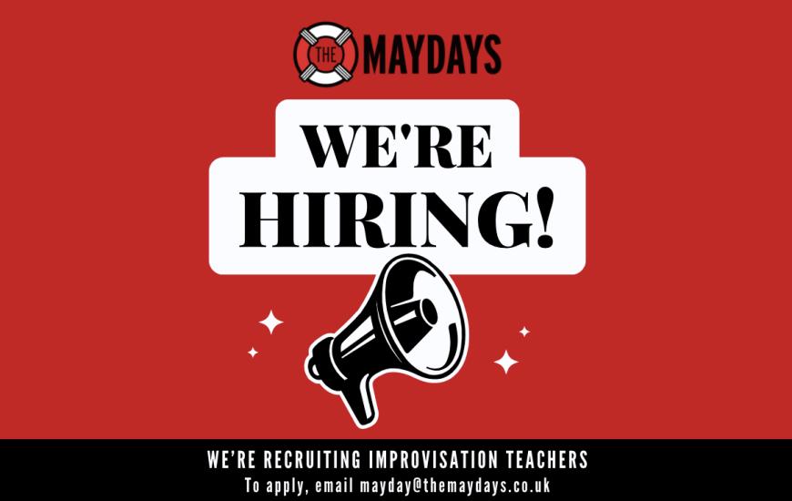 We're recruiting improvisation teachers!