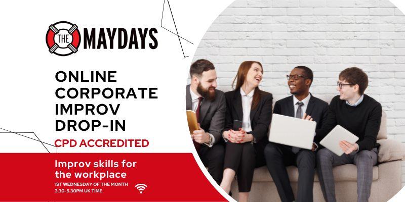Online Corporate Improv Drop-in