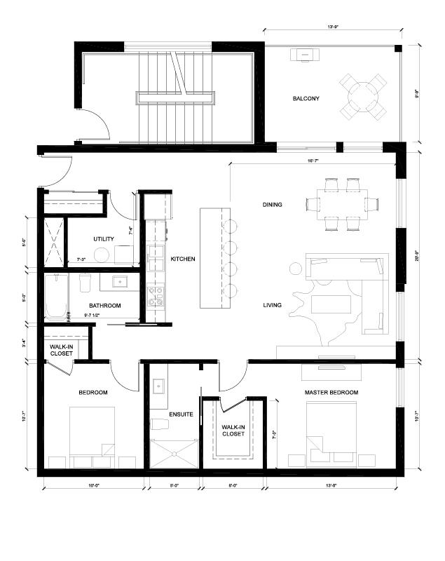 The Yale Floor Plan