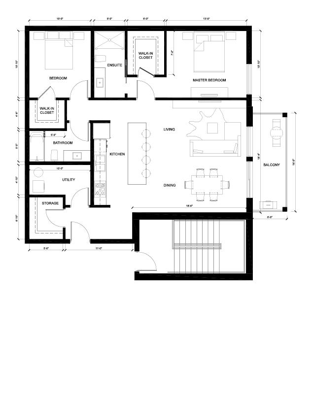 The Harvard Floor Plan