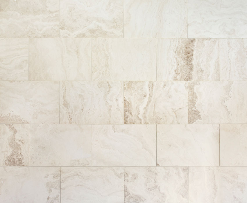 light marble tiles