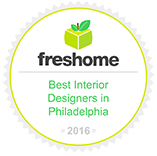 Freshome Best Interior Designers in Philadelphia Badge