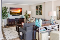 Custom Living Room - McMullin Design Group