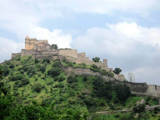 The incredible Kumbhalgarh Fortress in Rajasthan.