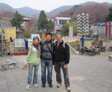 Wonderful young man with an interesting perspective on life at the the Muytalin entrance of The Great Wall.