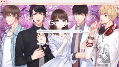 戀與製作人 Chrome Themes - ThemeBeta