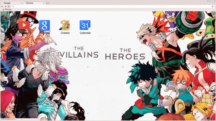 View photo of myheroacademia heroes vs villains in high quality and you can also choose to download this image. Bnha villains vs heroes Boku no hero academia Chrome Theme ...