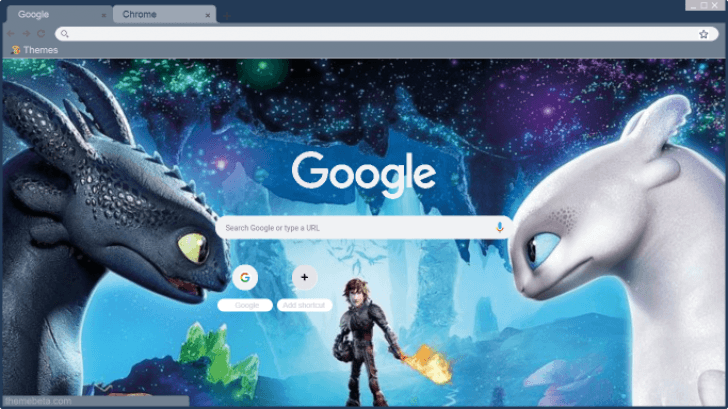 Httyd3 Toothless And Light Fury Chrome Theme Themebeta