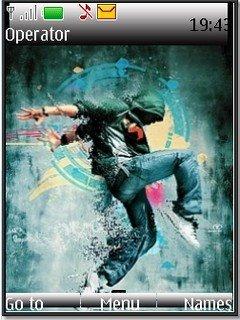 Dance Nokia S40v3 theme