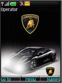 Animated Lamborgini