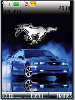 Ford mustang s40v3 theme