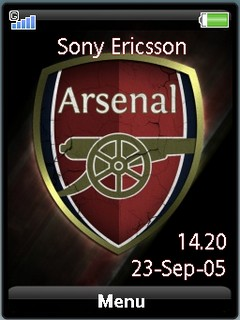 Arsenal gold logo by shadow_20
