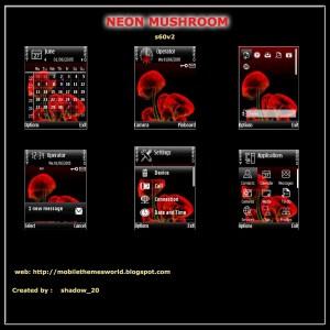 Neon Mushroom S60v2