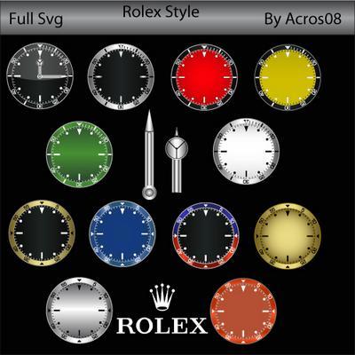 rolex clocks
