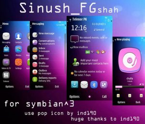 sinush s3 theme by FGshah