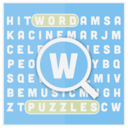 word puzzles a word search game