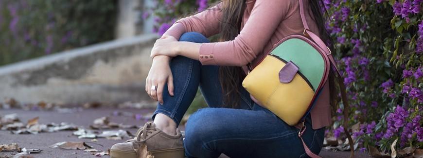 Soruka borse uniche dalla pelle di scarto