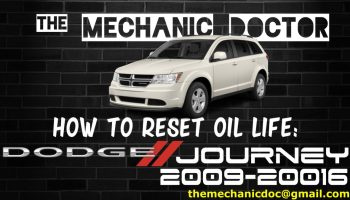 How to reset oil life: Dodge Charger 2010, 2011, 2012, 2013, 2014, 2015