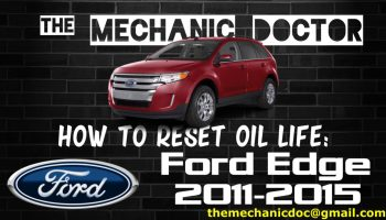 How to reset oil life: Ford Taurus 2010, 2011, 2012, 2013