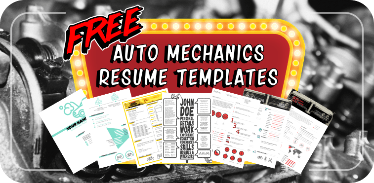 Free resume templates for auto mechanics