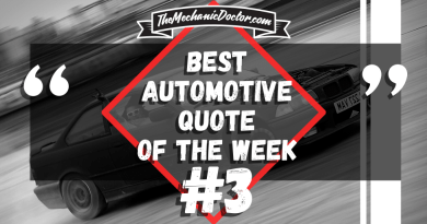 Best Automotive Quote of the Week 3