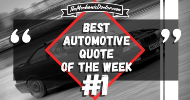 Best Automotive Quote of the Week